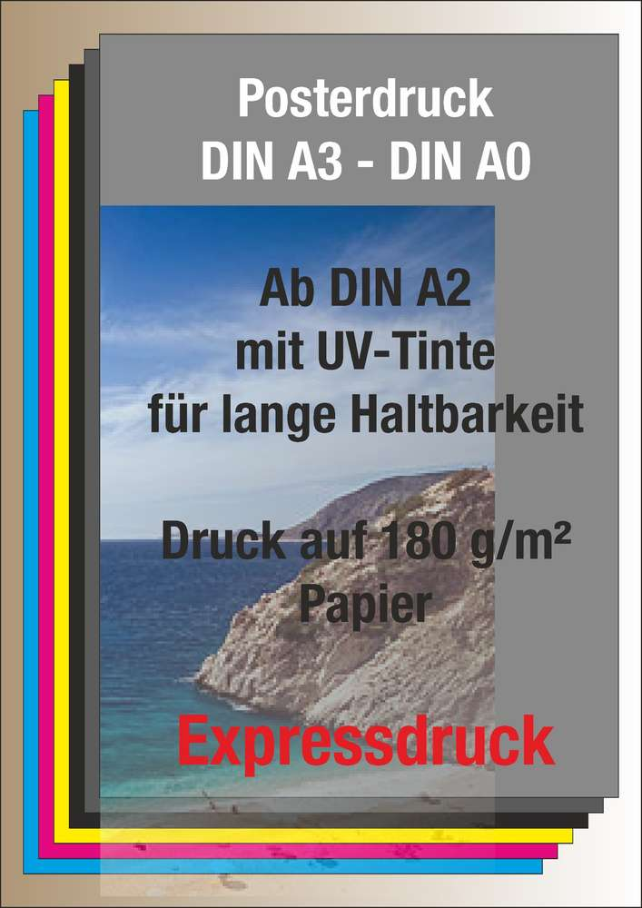 druck poster a1