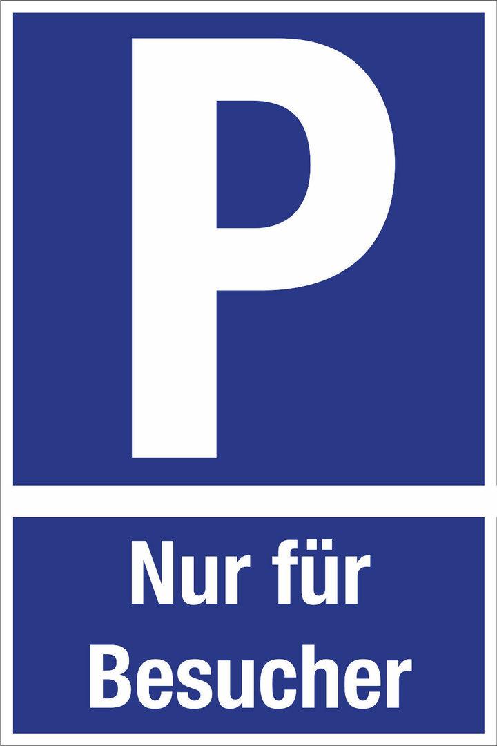 hinweis schild parkplatz hinweis besucher pfeil parkplatz markierung rund um die uhr. Black Bedroom Furniture Sets. Home Design Ideas