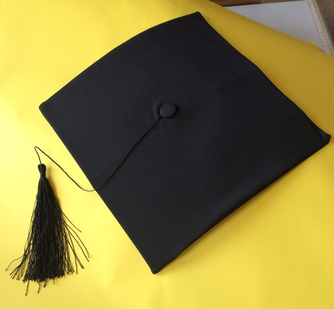 Deluxe Bachelor Doktor College Absolventen Hut Doctor Cap Doktorhut Diplomhut